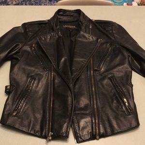 Vintage moto 🏍 Leather Jacket